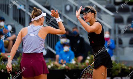 Editorial photo of Italian Open, Tennis, Foro Italico, Rome, Italy - 16 May 2021