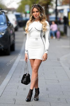 Editorial photo of Exclusive - 'The Only Way is Essex' TV show filming, UK - 08 May 2021