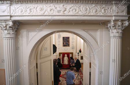 Editorial photo of Smuggled Persephone Statue returned to Libya, London, United Kingdom - 10 May 2021