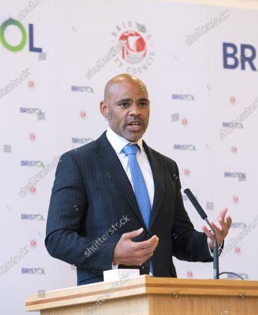 Editorial photo of Bristol Mayor Marvin Rees inauguration, Bristol, UK - 10 May 2021