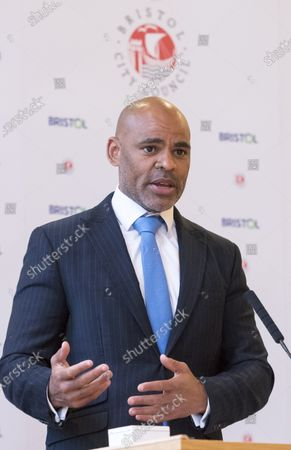 Editorial picture of Bristol Mayor Marvin Rees inauguration, Bristol, UK - 10 May 2021