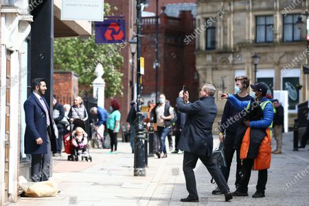 Editorial image of 'Traces' on set filming, Series 2, Stockport, UK - 10 May 2021