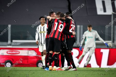 Editorial photo of Juventus FC v AC Milan - Serie A, Turin, Italy - 09 May 2021