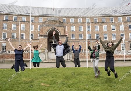 Editorial picture of Bristol Green Party celebrates Council wins, Bristol, UK - 10 May 2021
