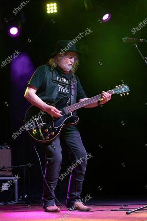 Ray Wylie Hubbard performs in concert at Haute Spot on April 7, 2021 in Cedar Park, Texas.