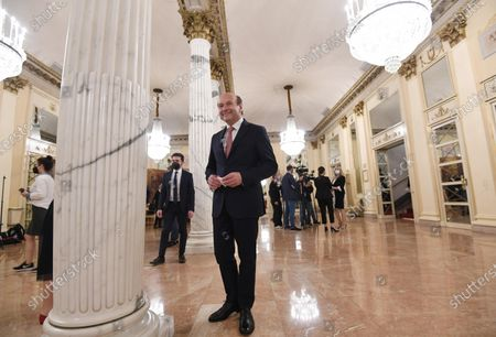 Editorial photo of Teatro alla Scala reopens to public, Milan, Italy - 10 May 2021
