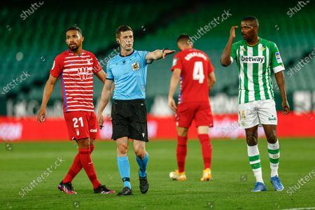 Editorial photo of Real Betis v Granada CF, LaLiga Santander, date 35. Football, Benito Villamarin Stadium, Sevilla, Spain - 10 MAY 2021