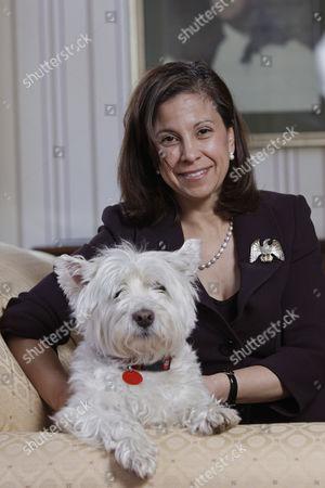 Editorial image of Dana Linnet, Principal Officer, U.S. Consulate General, Edinburgh, Scotland, Britain - 16 May 2010