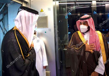 Editorial image of Qatar, Jiddah, Saudi Arabia - 10 May 2021