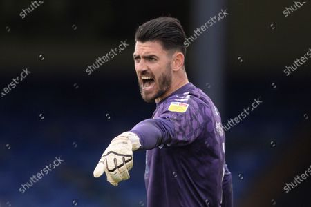 Tom King of Newport County in action during Sky Bet League Two match between Southend United and Newport County at Roots Hall in Southend - 8th May 2021