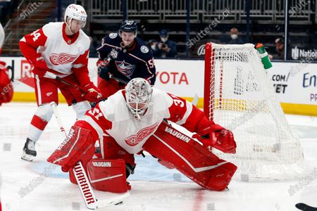 Editorial picture of Red Wings Blue Jackets Hockey, Columbus, United States - 08 May 2021