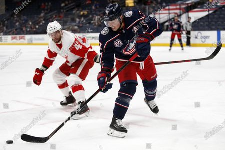 Editorial photo of Red Wings Blue Jackets Hockey, Columbus, United States - 08 May 2021