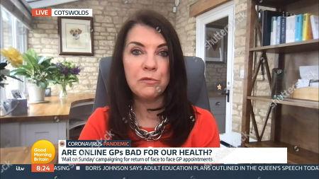 Editorial photo of 'Good Morning Britain' TV Show, London, UK - 11 May 2021