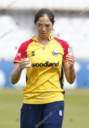 Essex Women's Emma Jones during Women's County T20 South East Group  between Essex CCC and Kent CCC at The Cloudfm County Ground Chelmsford, on 09th May, 2021