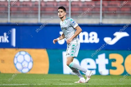 Marc Bartra of Real Betis Balompie looks on during the La Liga match between SD Eibar and Real Betis at Ipurua stadium on May 13, 2021 in Eibar, Spain.