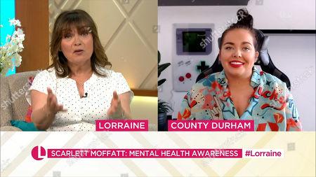 Lorraine Kelly, Scarlett Moffatt