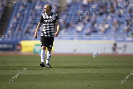 Andres Iniesta (Vissel) - Football / Soccer : 2021 J1 League match between Yokohama F Marinos 2-0 Vissel Kobe at Nissan Stadium in Kanagawa, Japan.