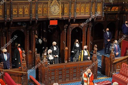 Editorial photo of State Opening of Parliament, Westminster, London, UK - 11 May 2021