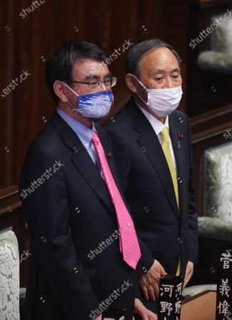 Editorial picture of Japanese Prime Minister Yoshihide Suga attends Lower Hoise's plenary session, Tokyo, Japan - 11 May 2021