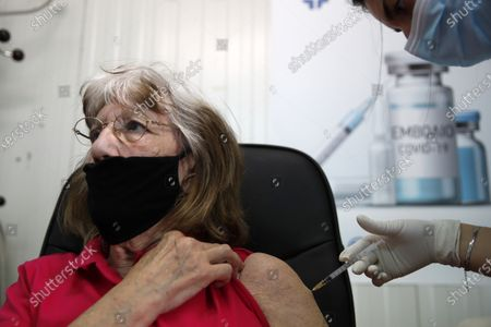 Editorial picture of Virus Outbreak Vaccine, Naxos, Greece - 11 May 2021
