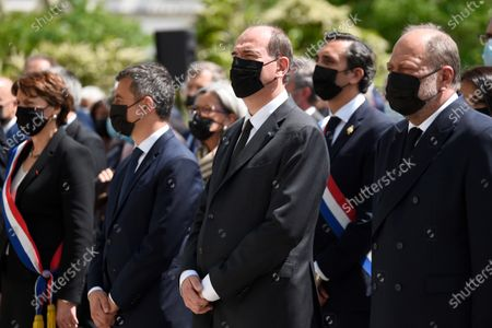 Editorial photo of Ceremony to pay tribute to killed police officer Eric Masson, Avignon, France - 11 May 2021