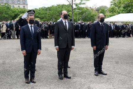 Editorial picture of Ceremony to pay tribute to killed police officer Eric Masson, Avignon, France - 11 May 2021