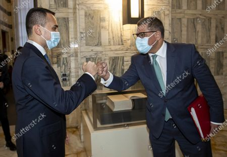Editorial photo of Italian FM Luigi Di Maio meets COP 26 president, Rome, Italy - 11 May 2021