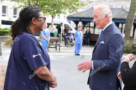 Editorial image of Prince Charles visits St Bartholomew's Hospital, London, UK - 11 May 2021