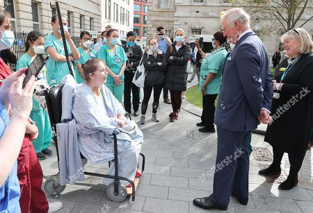 Editorial photo of Prince Charles visits St Bartholomew's Hospital, London, UK - 11 May 2021