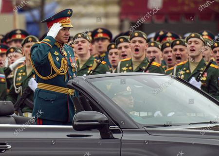 Editorial photo of Victory Day, Moscow, Russia - 09 May 2021