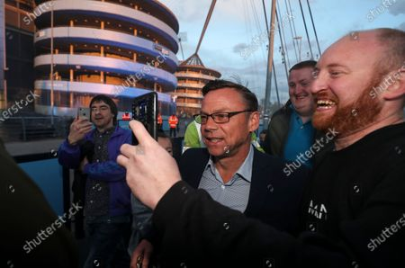 Editorial picture of Manchester City Title Celebrations, Premier League, Football, The Etihad Stadium, Manchester, UK - 11 May 2021