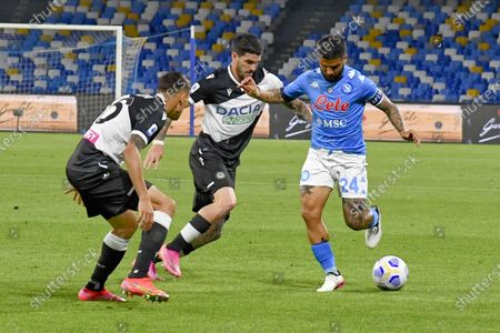 Editorial picture of SSC Napoli vs Udinese Calcio, Naples, Italy - 12 May 2021