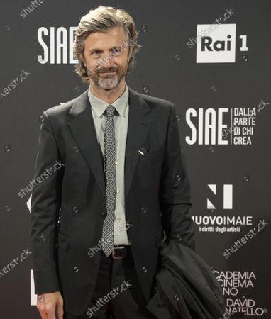 Kim Rossi Stuart at the 66th edition of the David di Donatello Awards in Rome, Italy, 11 May 2021.