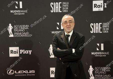 Stock Image of Silvio Orlando at the 66th edition of the David di Donatello Awards in Rome, Italy, 11 May 2021.