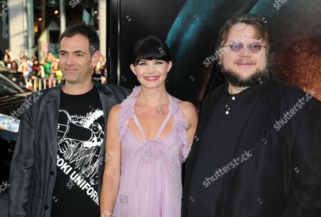 Vincenzo Natali, Delphine Chaneac and Guillermo Del Toro