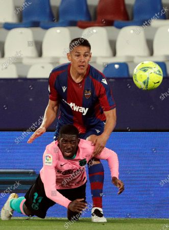 Editorial photo of Levante UD - FC Barcelona, Valencia, Spain - 11 May 2021