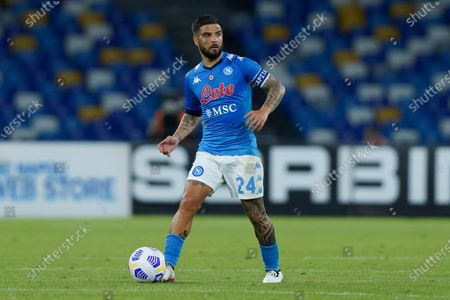 Lorenzo Insigne of SSC Napoli during the Serie A match between Napoli and Udinese at Stadio Diego Armando Maradona, Naples, Italy on 11 May 2021.
