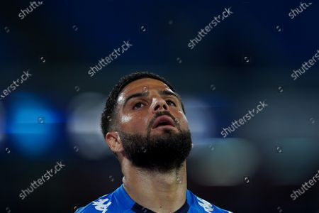 Lorenzo Insigne of SSC Napoli looks dejected during the Serie A match between Napoli and Udinese at Stadio Diego Armando Maradona, Naples, Italy on 11 May 2021.
