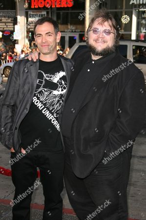 Stock Photo of Vincenzo Natali and Guillermo Del Toro