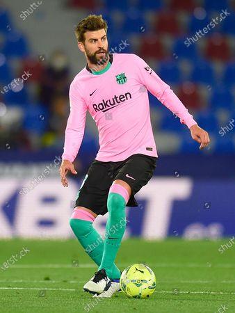 Gerard Pique of FC Barcelona