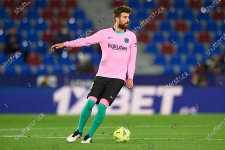 Stock Photo of Gerard Pique of FC Barcelona