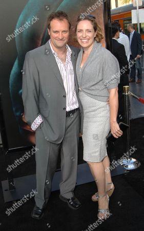 David Hewlett & wife Jane Loughman