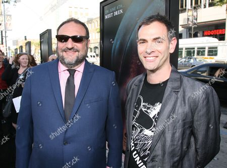 Joel Silver and Vincenzo Natali