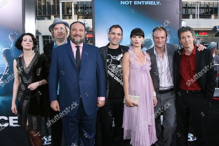 Susan Montford, Don Murphy, Joel Silver, Vincenzo Natali, Delphine Chaneac, David Hewlett and Steve Hoban