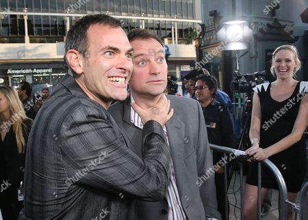 Vincenzo Natali and David Hewlett