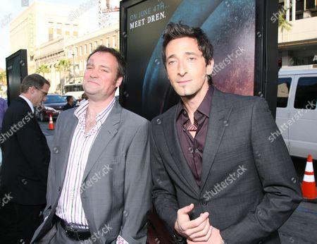 David Hewlett and Adrien Brody