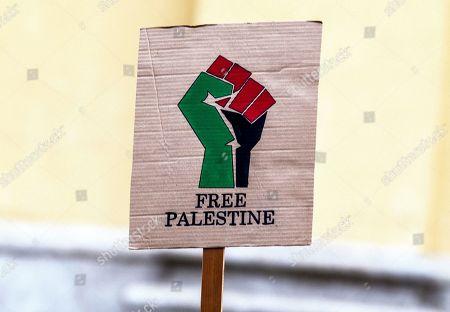'Free Palestine' protests