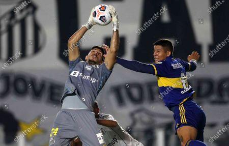 Editorial photo of Argentina Soccer Copa Libertadores, Santos, Brazil - 11 May 2021