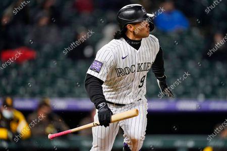 Editorial photo of Padres Rockies Baseball, Denver, United States - 11 May 2021