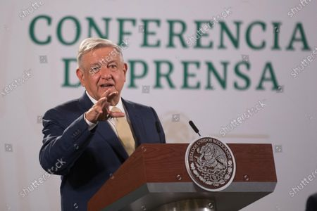 Editorial photo of Mexican President daily press conference, Mexico City - 11 May 2021